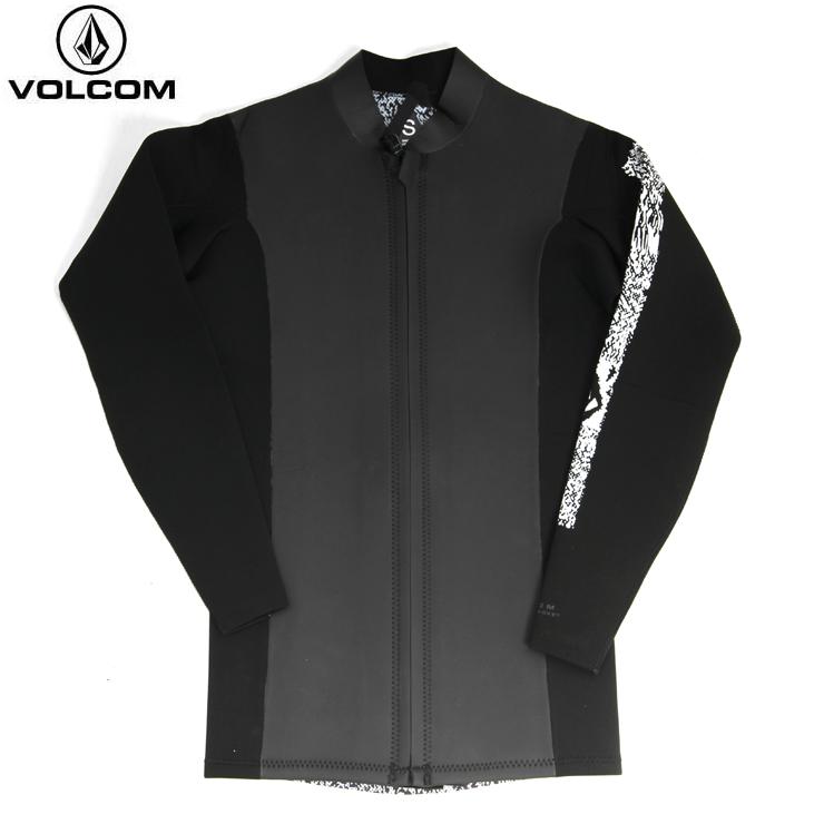 VOLCOM ボルコム メンズ Chesticle Jacket BLK N1611800 ウェットスーツ 長袖タッパー 【クエストン】