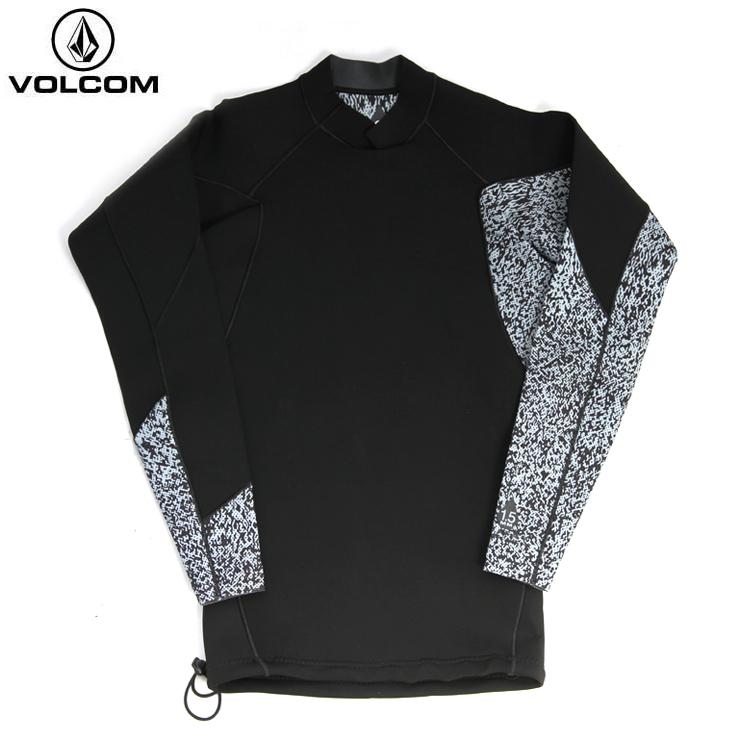 VOLCOM ボルコム メンズ Neo Revo Jacket BLK N1611802 ウェットスーツ 長袖タッパー サーフ 【クエストン】