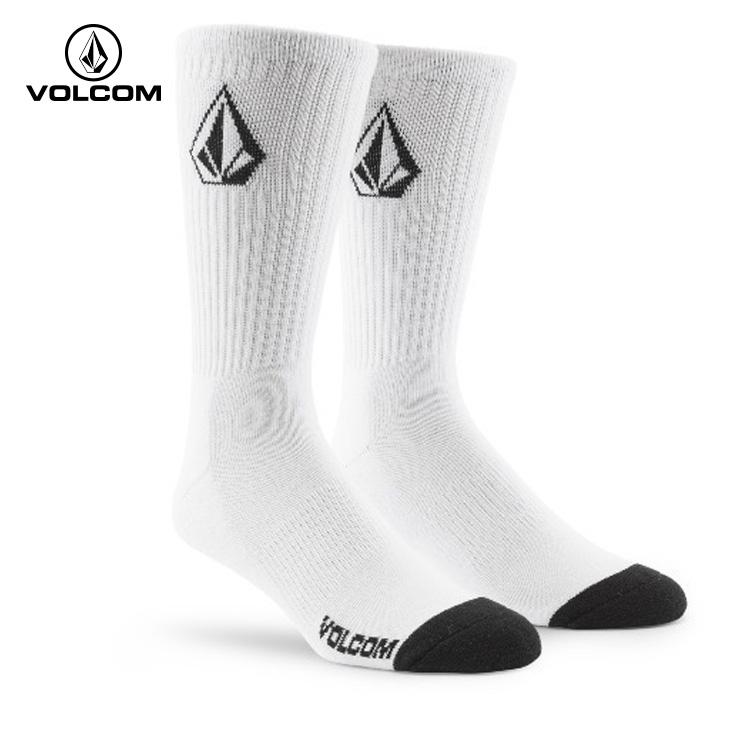 メンズ 送料無料お手入れ要らず ソックス VOLCOM ボルコム 靴下 3PK FULL 海外並行輸入正規品 STONE クエストン SOCK