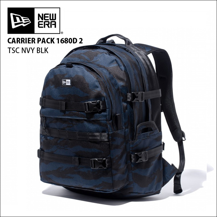 NEW ERA newera ニューエラ リュック バックパック キャリアパック CARRIER PACK 900D 2 TSC OLIVE BLK バッグ カバン 【クエストン】
