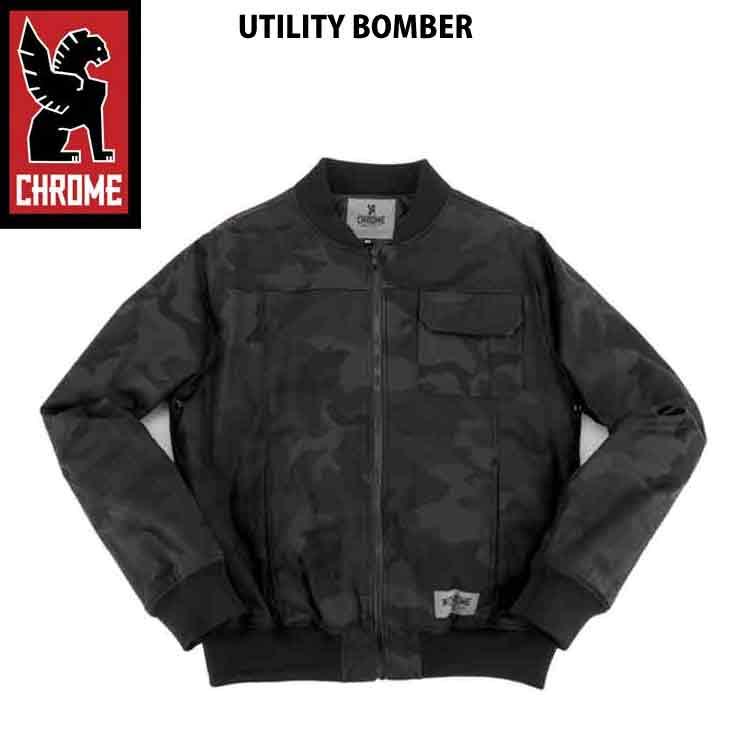 【正規販売店】 CHROME クローム クローム メンズ UTILITY ジャケット BOMBER SALE BLK CAMO ジャケット アウター 17FW SALE, アイム:5d87daa2 --- canoncity.azurewebsites.net