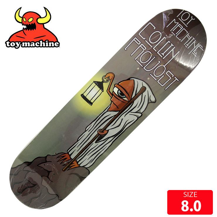 スケボーデッキ トイマシーン TOYMACHINE PROVOST STAIRWAY DECK 8.0 スケートボード skateboard【クエストン】