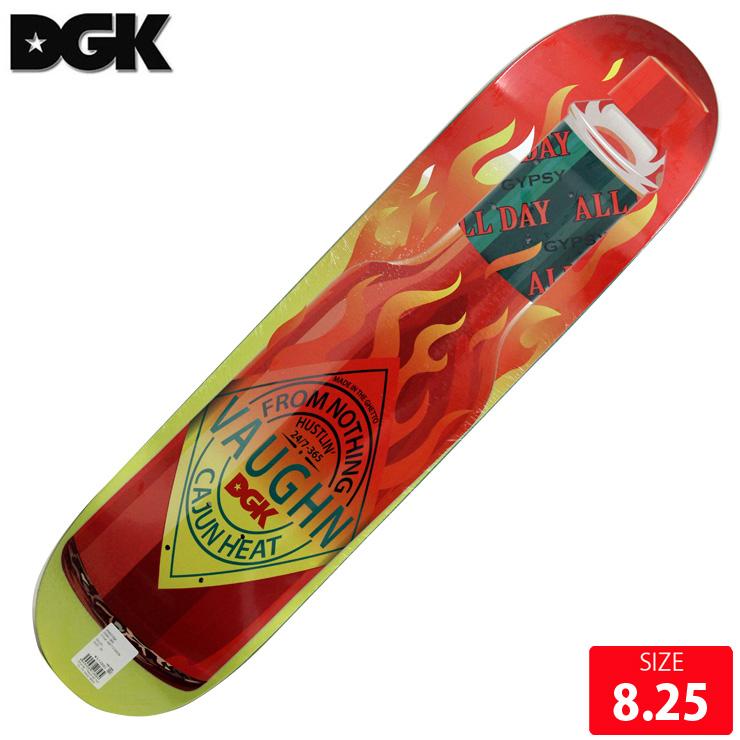 DGK デッキ ディージーケー デッキ DIRTY GHETTO GOODS DANE VAUGHN DECK 8.25 skatebaord スケートボード 【クエストン】