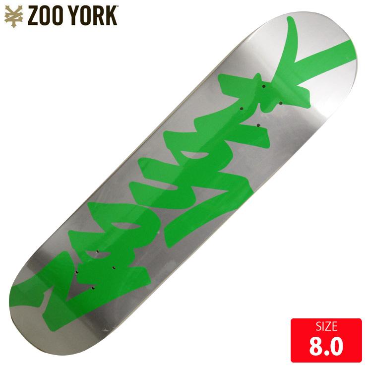 ZOOYORK ズーヨーク デッキ CLASSIC TAG ENERGY DECK 8.0 SKATEBOARD スケートボード スケボーデッキ