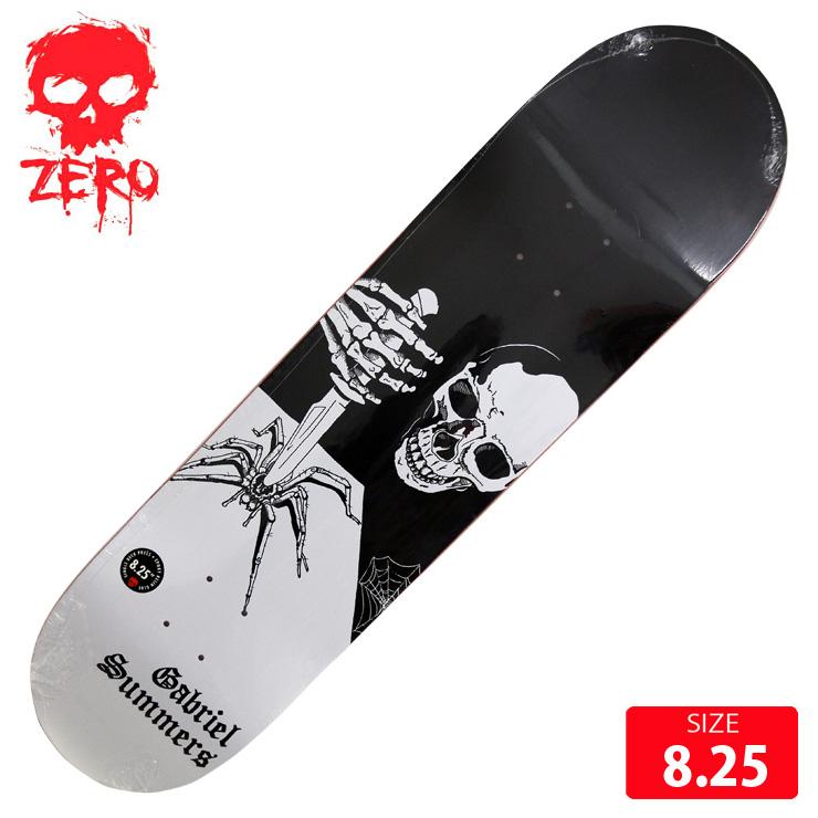 ZERO ゼロ デッキ GABBERS LOSER HEAVY RESIN-7 DECK 8.25 スケボー スケートボード skateboard 【クエストン】
