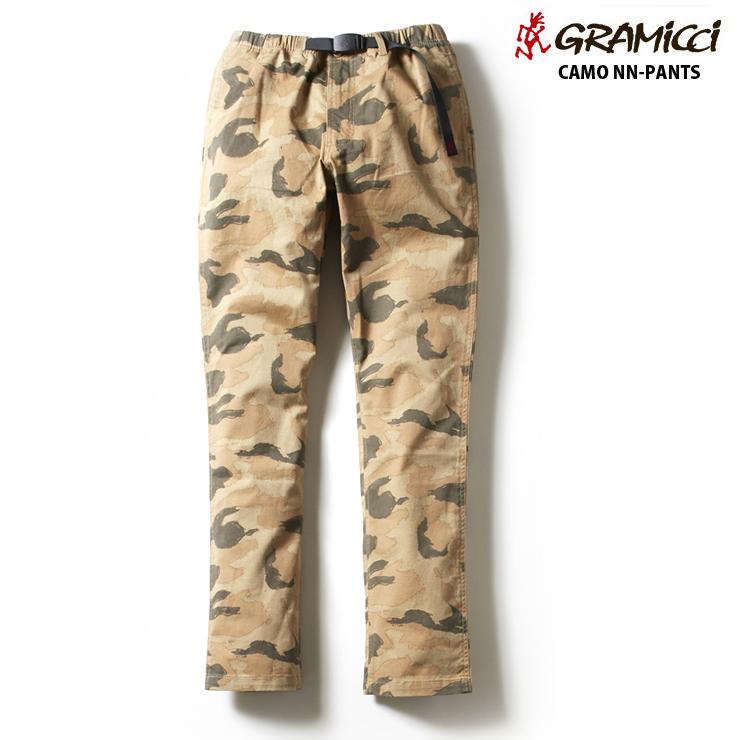 Gramicci グラミチ キッズ ナロー パンツ CAMO NN-PANTS SAND CAMO ジュニア ズボン