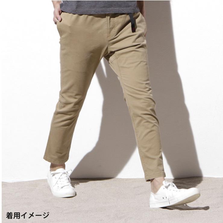 Gramicci グラミチ NN-PANTS  TIGHT FIT ナロー パンツ  タイトフィット BLK