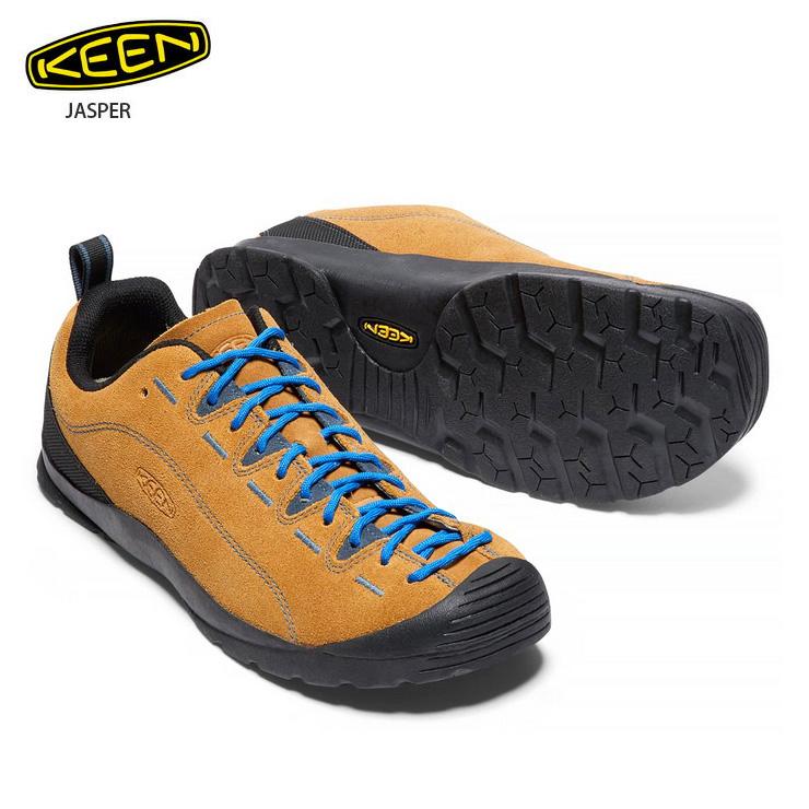 KEEN キーン ジャスパー Jasper CATHAY SPIC E/ORION BLUE:メンズ スニーカー 靴 登山 ハイキング キャンプ アウトドア 男性用 【クエストン】
