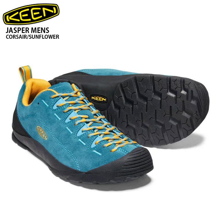 KEEN キーン 男性用 KEEN ジャスパー メンズ Jasper CORSAIR/SUNFLOWER 1020302 メンズ スニーカー 靴 登山 ハイキング キャンプ アウトドア 男性用, 鞍手町:9a3c03a1 --- sunward.msk.ru