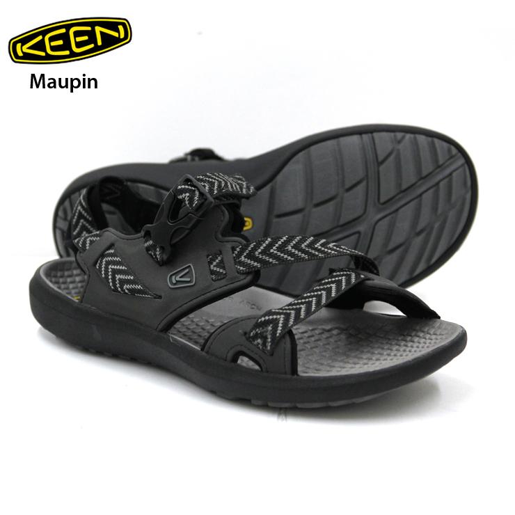 KEEN キーン Maupin マーピン Raven/Gargoyle メンズ スニーカー 靴 登山 ハイキング キャンプ アウトドア 【クエストン】