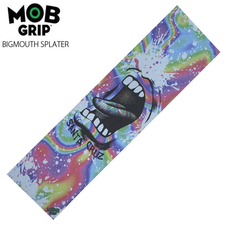 グラフィック デッキテープ スケボー モブグリップ MOB GRIP クエストン 2020新作 滑り止め BIGMOUTH 低廉 スケートボード SPLATER