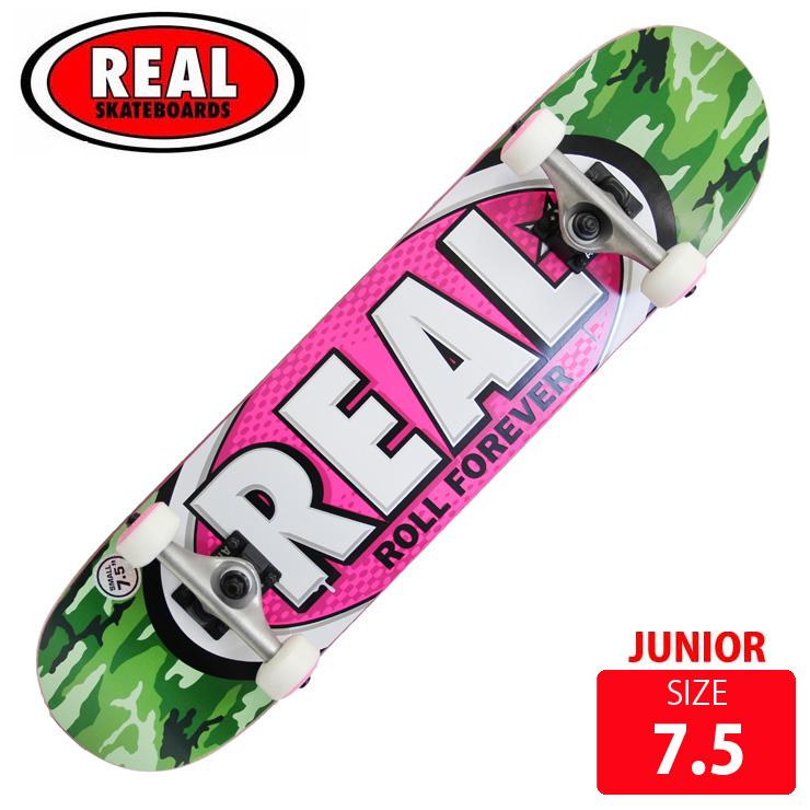 REAL リアル コンプリート AWOL OVAL SM DECK サイズ 7.5 RAC-204 完成品 組立て済 スケートボード スケボー