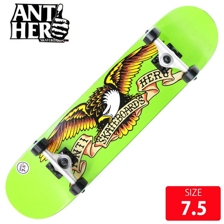 ANTI HERO アンチヒーロー コンプリート CALSSIC EAGLE SM DECK 7.5 ANC-015 完成品 組立て済 スケートボード スケボー