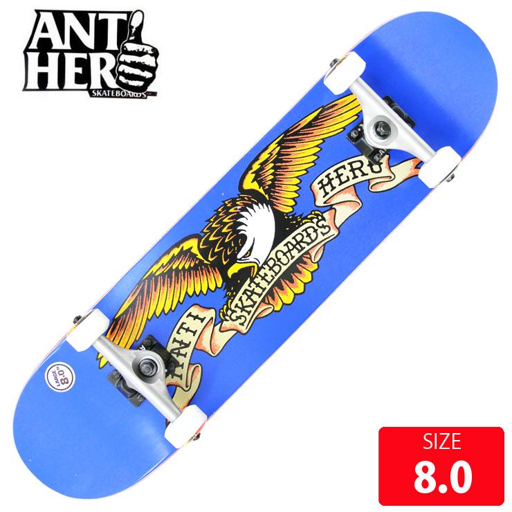 スケボー コンプリート ANTI HERO アンチヒーロー CALSSIC EAGLE LG DECK 8.0 ANC-017 完成品 スケートボード