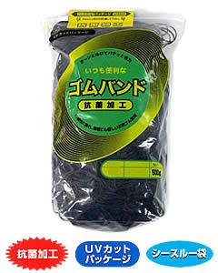 SALENEW大人気 アイ ジー オー 40%OFFの激安セール ゴムバンド 輪ゴム 500g 黒色 1袋 #16