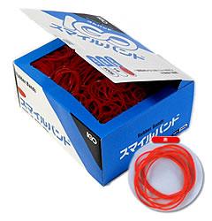 1袋あたり640円 一部予約 税別 輪ゴム #18 1カートン20kg 赤色 新商品!新型 500g×40箱 スマイルバンド