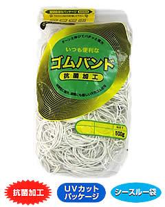 アイ ジー オー ゴムバンド 輪ゴム 1袋 #25 数量は多 500g 白色 期間限定特別価格