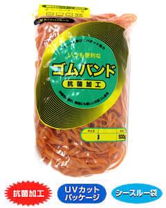 輪ゴム #665(#65-4.5) アメ色 500g×40袋(1カートン20kg)