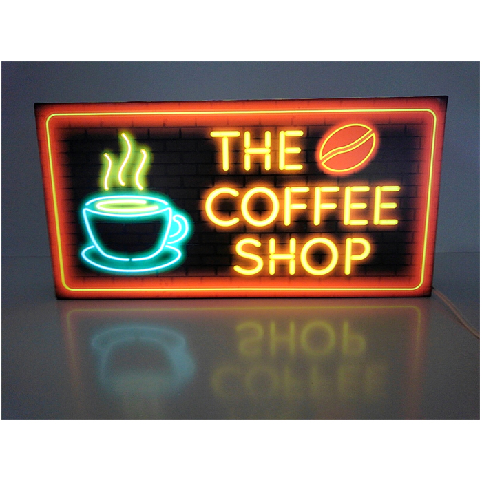 割引クーポン 【LEDデザインライト】COFFEE SHOP CAFE 看板 SHOP インテリア カフェ 喫茶店 コーヒー SHOP コーヒー豆 コーヒーグラス WELCOME OPEN ネオン風 レトロ 看板 インテリア 雑貨 置物◆LLサイズ-1◆, 会社制服sanapparel【】:c0e2ad3f --- coursedive.com