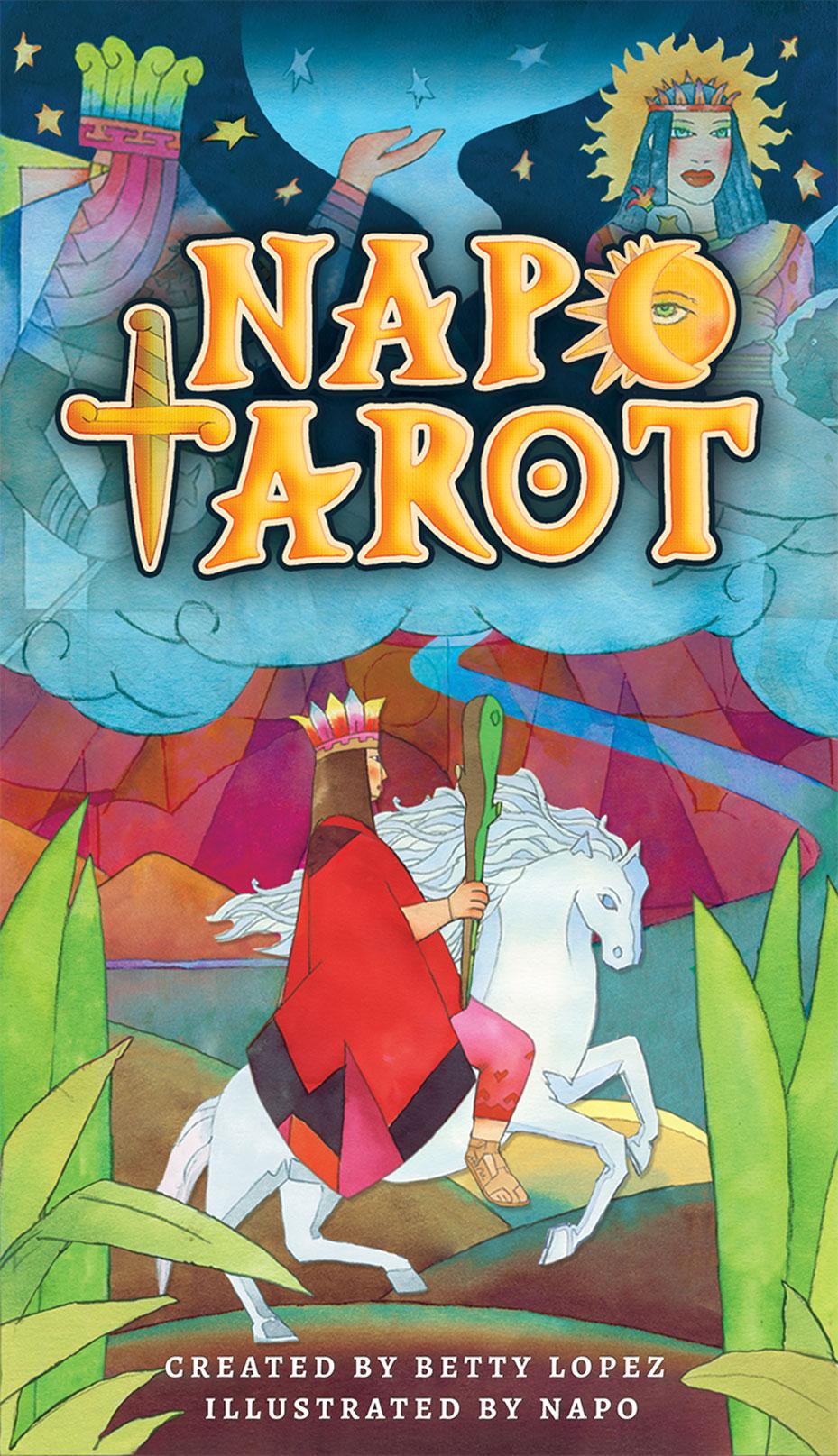 送料無料 迅速にお届け致します 割引も実施中 正規販売店 安心保証 タロットカード 78枚 Napo Tarot 特価 タロット タロット占い おすすめ ナポ