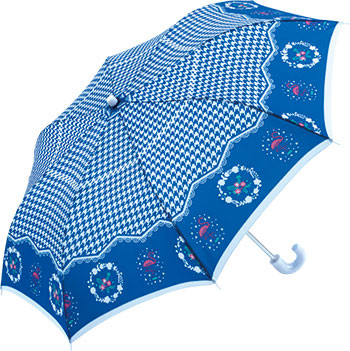 折りたたみ傘 55cm 60本アソート トップレス ガーリーチェック ネイビー、ブルー、ピンク各20本 合計60本アソート