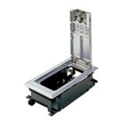インナーコンセントボックス 標準型 角2型 金属プレートボックス NE32419