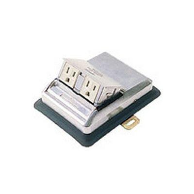 アップコンセント 接地2Pコンセント 2コ口 15A 125V NE22110