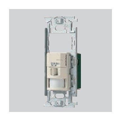 かってにスイッチ 壁取付 熱線センサ付自動スイッチ 2線式・3路配線対応形 2A 100V WN5692K