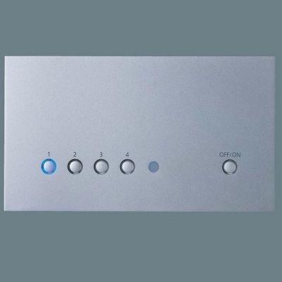 5回路マルチ高機能調光タイプ 親器 シルバー NQ28752SK