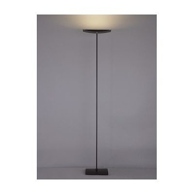 LEDフロアスタンド ブラック フットスイッチ付 両口ハロゲン150W相当 電球色 FD4149L