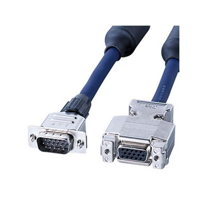 ディスプレイ延長ケーブル 複合同軸ケーブル 送料無料カード決済可能 アナログRGB 7m 人気ブランド多数対象 フェライトコア付 KB-CHD157FN