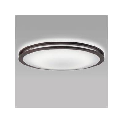 LEDシーリングライト ~12畳用 昼光色+電球色 ホタルック機能付 ダークオーク色 SLDCD12528SG