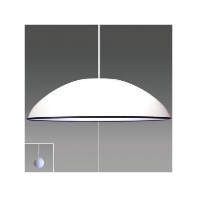 ペンダントライト洋風LEDタイプ ブラックバンド付 6畳用 プルスイッチ付 昼光色 RV60051