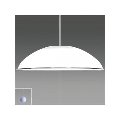 ペンダントライト洋風LEDタイプ クロームバンド付 8畳用 プルスイッチ付 昼光色 RV80059