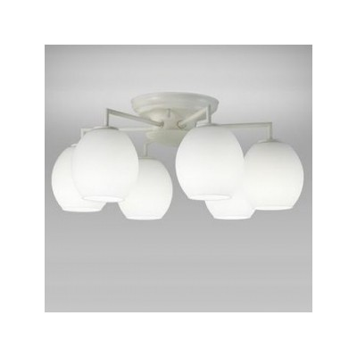 LEDシャンデリア ~6畳用 昼白色 小形電球50形×6灯相当 天井直付タイプ SXZ-LE176701N