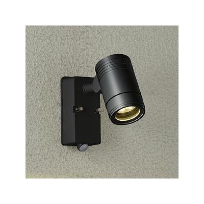 電球色 人感センサー付ON/OFF 防雨 LEDブラケットライト 黒サテン 非調光 白熱灯80W相当 DOL-4407YB