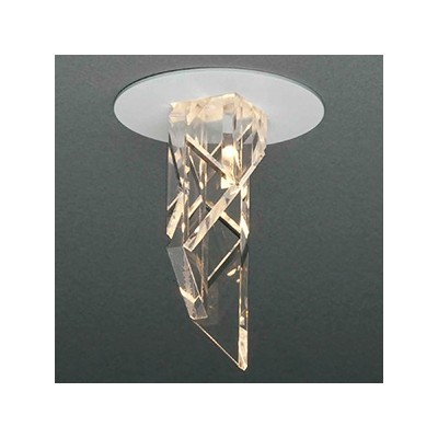 LED一体型ダウンライト ドレスタイプ ダイクロ40W相当 電球色 電源別売 DD-3455-LL