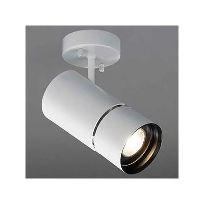 LED一体型スポットライト フランジタイプ 調光対応 HID35W相当 白色 天井・壁付兼用 SD-4436-W
