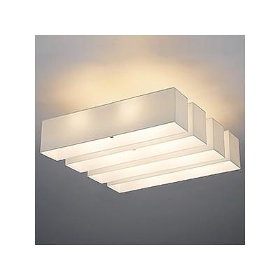 LEDランプ交換型シーリングライト ~14畳用 非調光 LED電球7.8W×8 電球色 E26口金 ランプ付 LD-2986-L