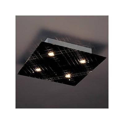 LEDランプ交換型シーリングライト 非調光 ダイクロハロゲン60W×4相当 電球色 E11口金 ランプ付 LD-2984-L