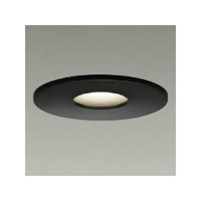 ベースダウンライト 軒下用 防雨・防湿形 白熱灯60W相当 電球色 黒 LZW-90098YB