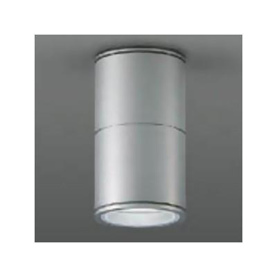 ベースダウンライト 軒下用 シーリングタイプ ランプ別売 防滴形 40W相当 シルバー LZW-92353XS