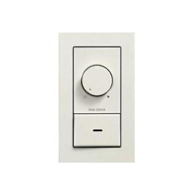 LED専用調光器 300VA用 壁面取付専用 埋込式 ホワイト DP-39672