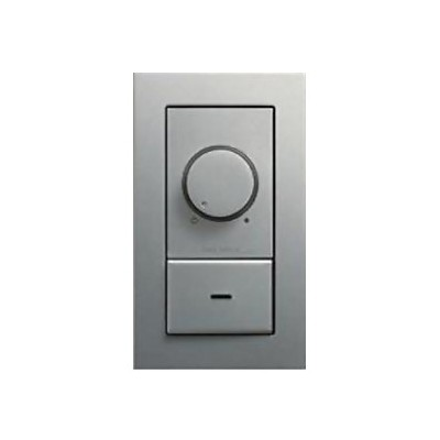 LED専用調光器 300VA用 壁面取付専用 埋込式 シルバー DP-39674