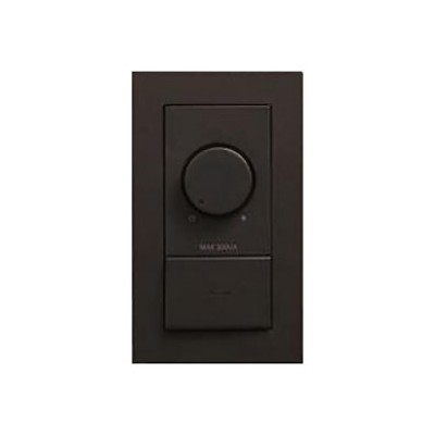 LED専用調光器 300VA用 壁面取付専用 埋込式 ダークブラウン DP-39675