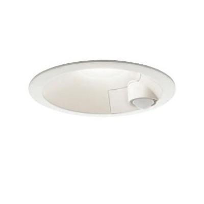 LEDダウンライト 人感センサー付 連動ONOFFタイプ 高気密SB形 非調光タイプ 電球色 ホワイト DDL-4497YW
