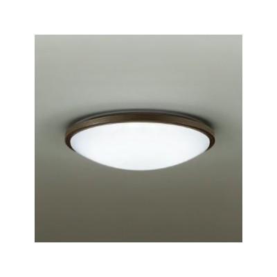 LED小型シーリングライト 明るさFHC28W相当 非調光タイプ 昼白色タイプ ダークブラウン DCL-38610W