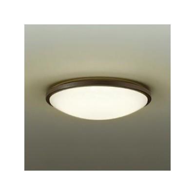 LED小型シーリングライト 明るさFHC28W相当 非調光タイプ 電球色タイプ ダークブラウン DCL-38610Y