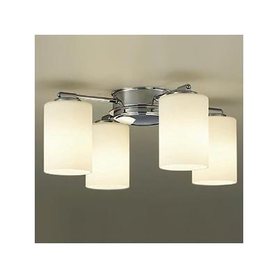LEDシャンデリア ランプ付 白熱灯60W×4灯相当 非調光タイプ 6W×4灯 口金E17 電球色タイプ DCH-38220Y
