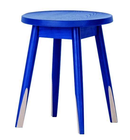 送料無料 スツール ブルー 1脚 腰掛け いす 椅子 ローチェアー 玄関 寝室 リビング キッチン コンパクト おしゃれ カラフル モダン 北欧 ミッドセンチュリー